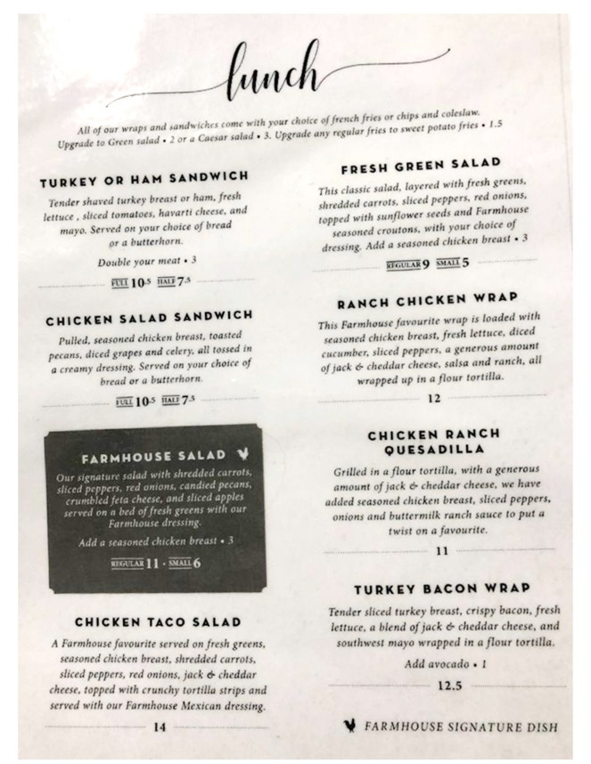 farmhouse menu side 1